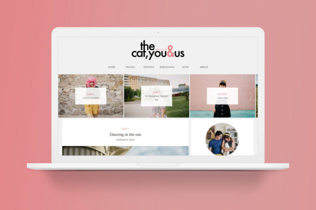 New blog design 2018 - The cat, you and us
