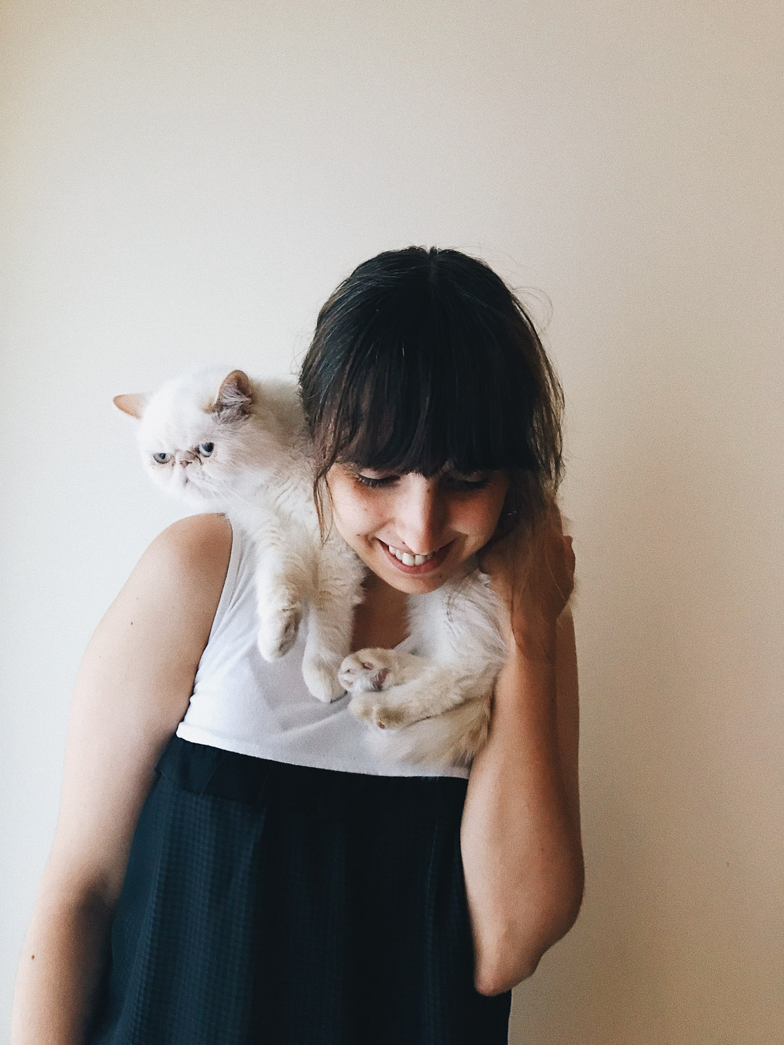 Juno and Damaris - The cat, you and us
