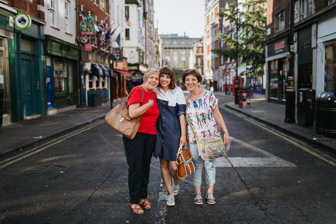 London Soho with family - The cat, you and us