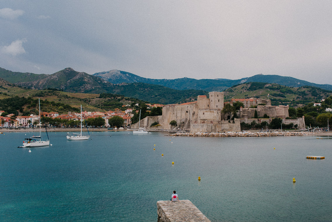Collioure - The cat, you and us