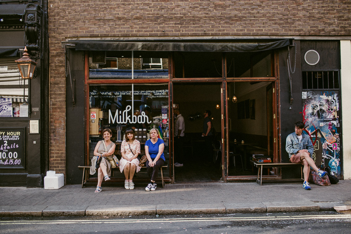 Milkbar Soho - The cat, you and us