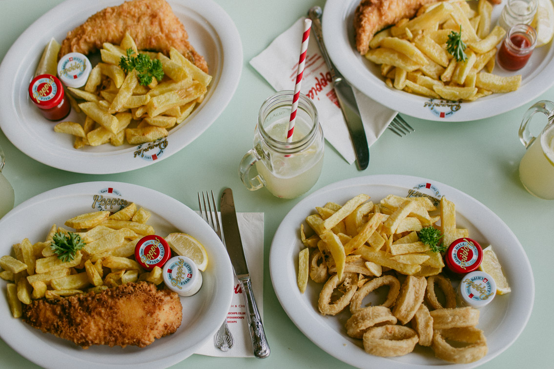 Poppie's Fish&Chips - The cat, you and us