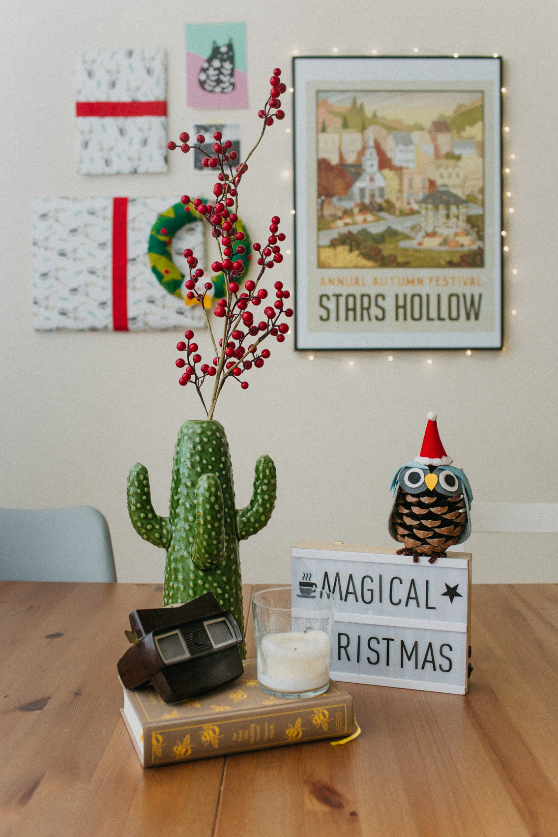 Christmas decor 2019 - The cat, you and us