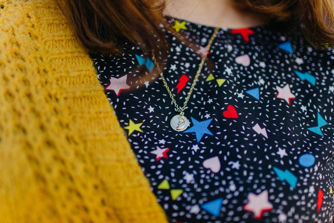 Amuleto Luna Oro La cabellera de Berenice - The cat, you and us