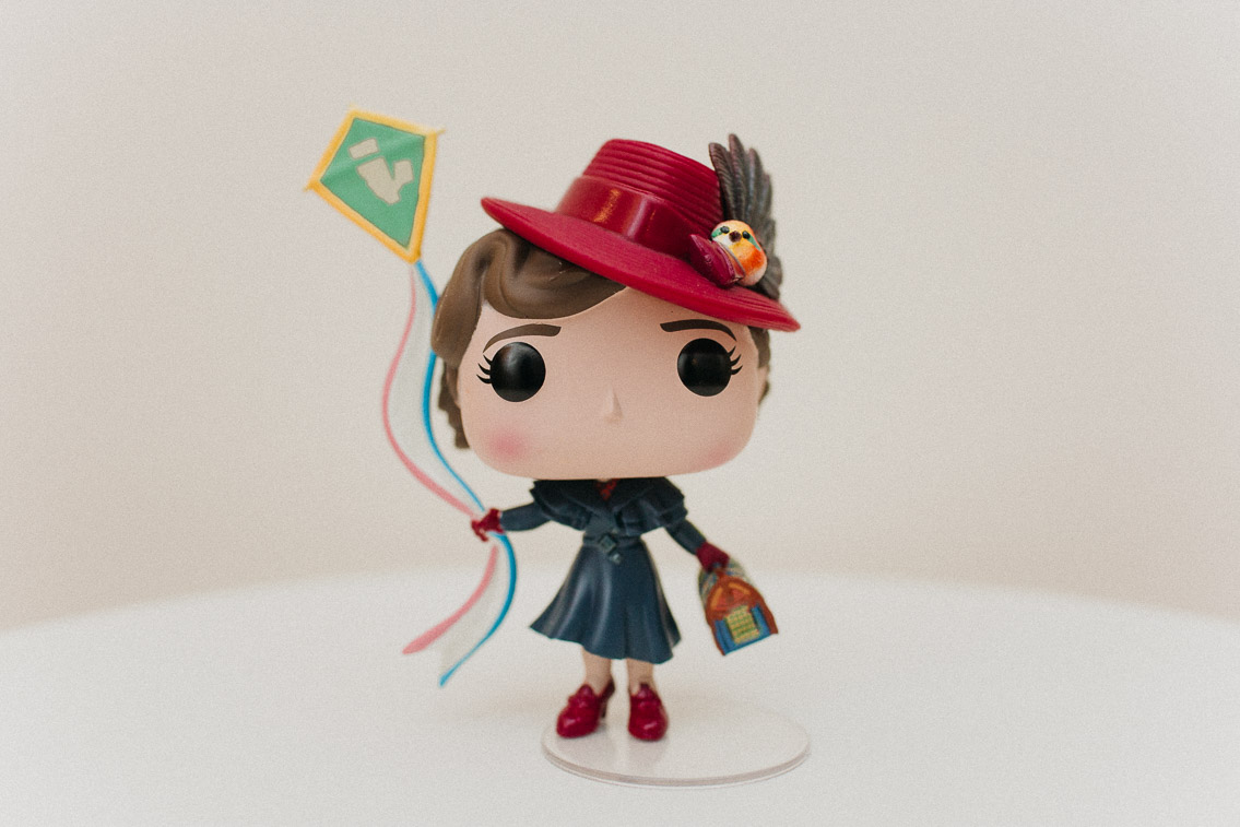 Mary Poppins returns Funko Pop - The cat, you and us