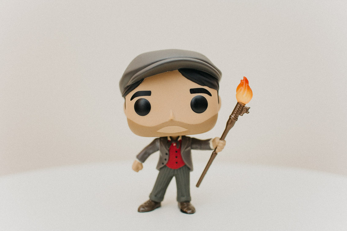 Jack Mary Poppins returns Funko Pop - The cat, you and us