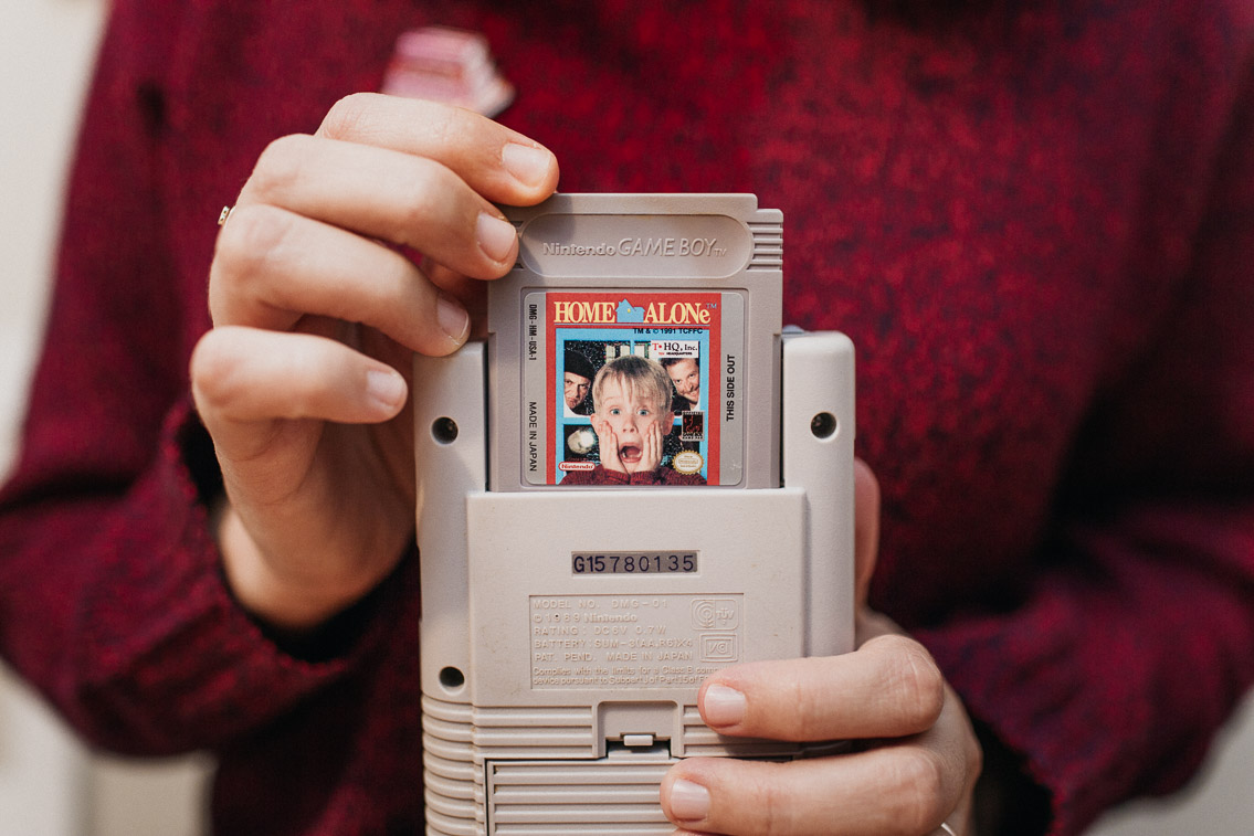 Home Alone Nintendo GameBoy - The cat, you and us