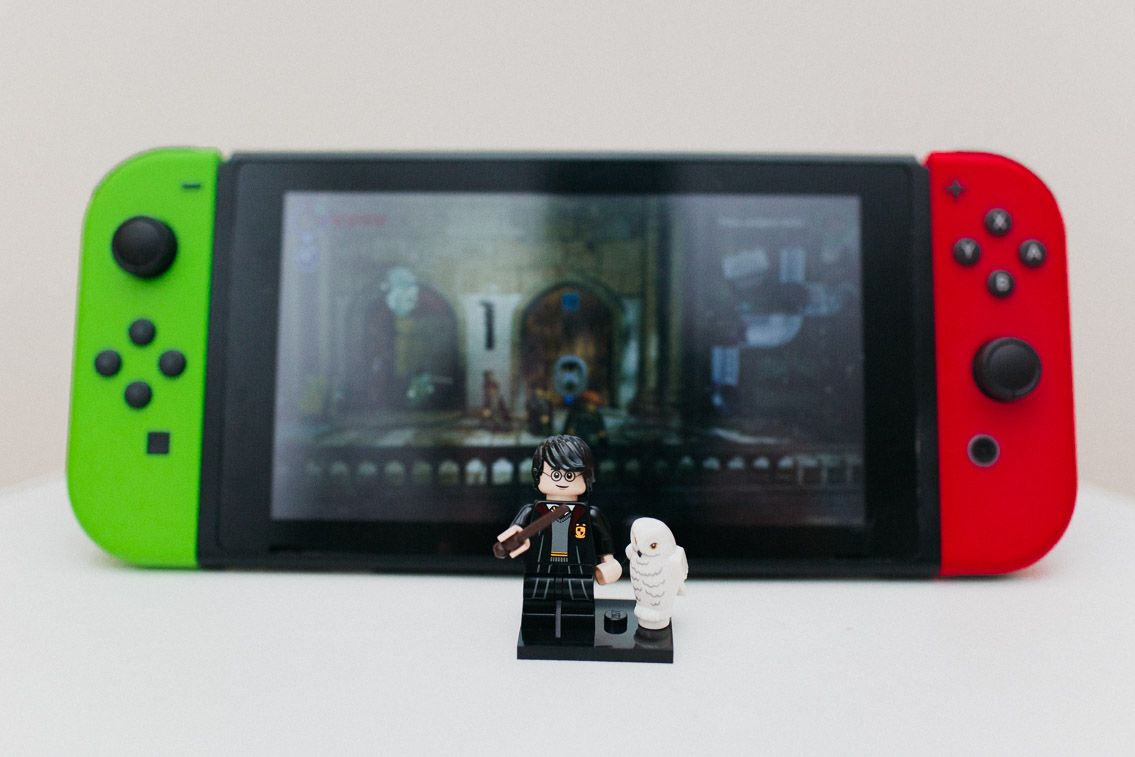 Harry Potter Lego Switch Game - The cat, you and us