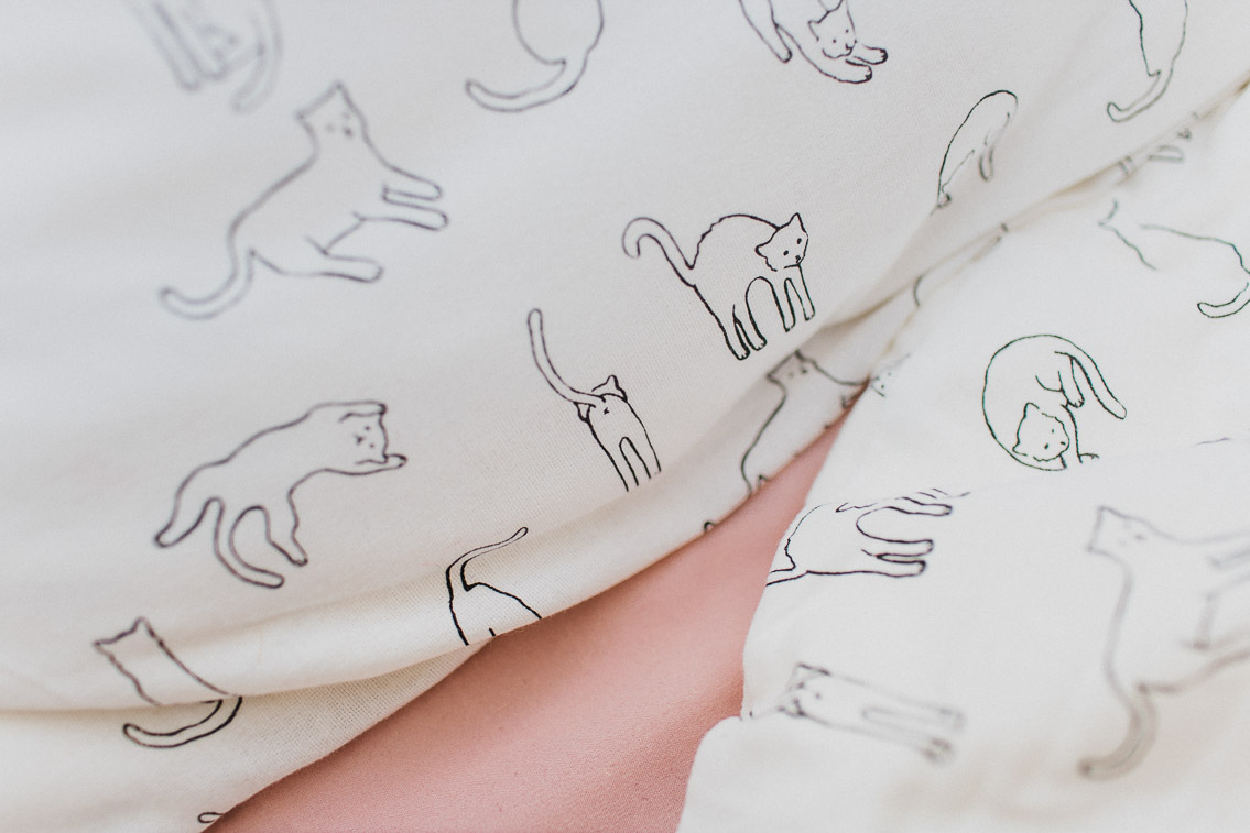 Uo cat duvet - The cat, you and us