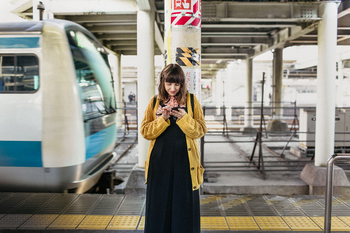 Yanaka Nippori JR station - The cat, you and us