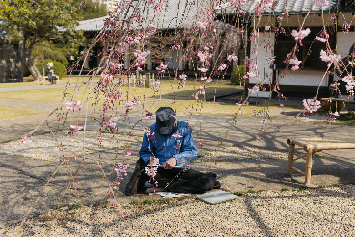 Yanaka Tennoji Temple - The cat, you and us