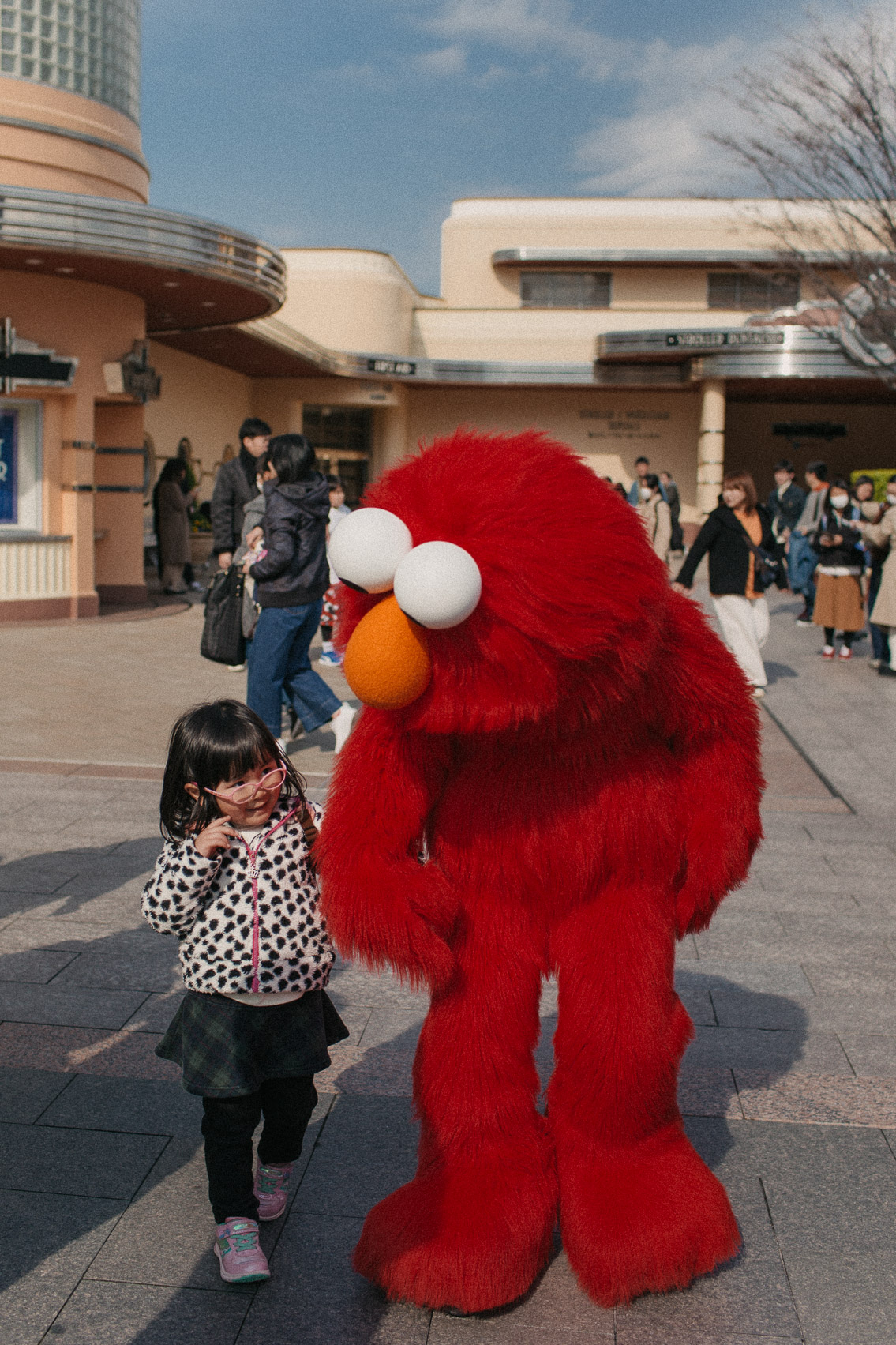 Sesame Street USJ Osaka - The cat, you and us