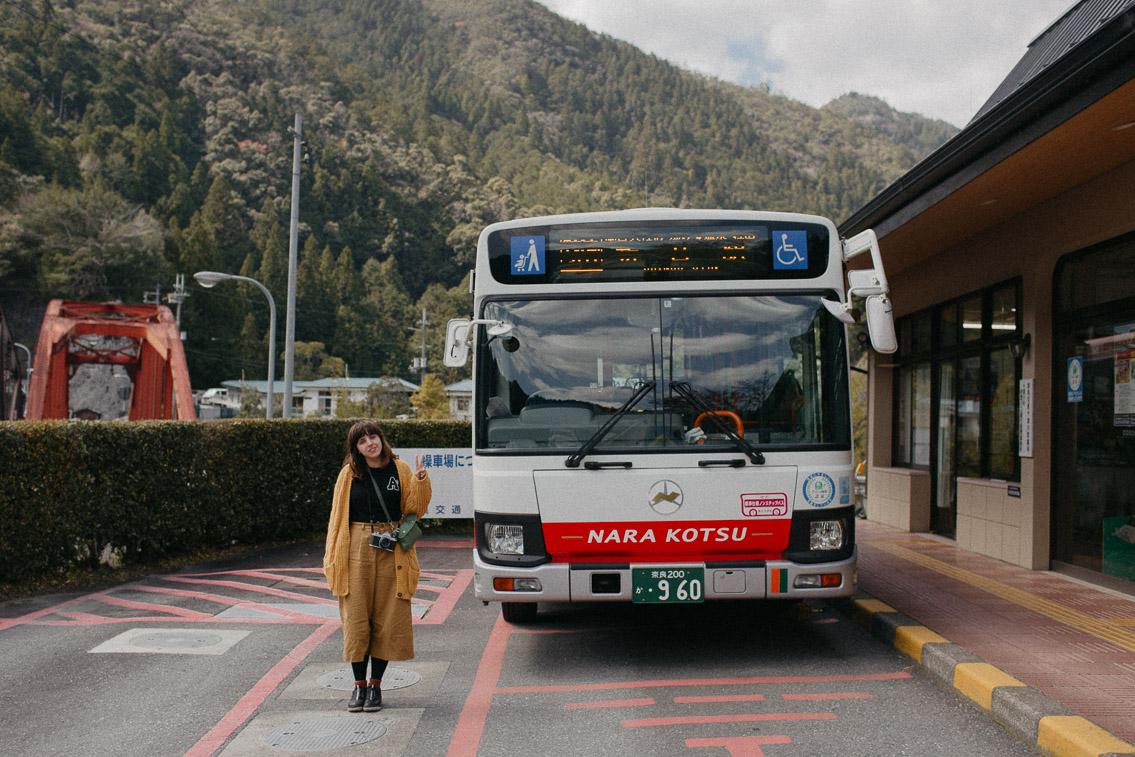 Nara kotsu bus - The cat, you and us