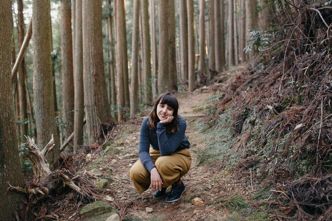 Kumano Kodo Nakahechi route Dainichi goe trail - The cat, you and us