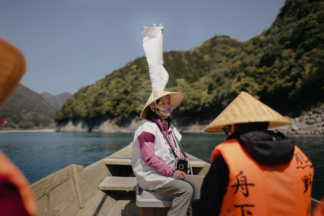 Kumano River Traditional Boat Tour - The cat, you and us