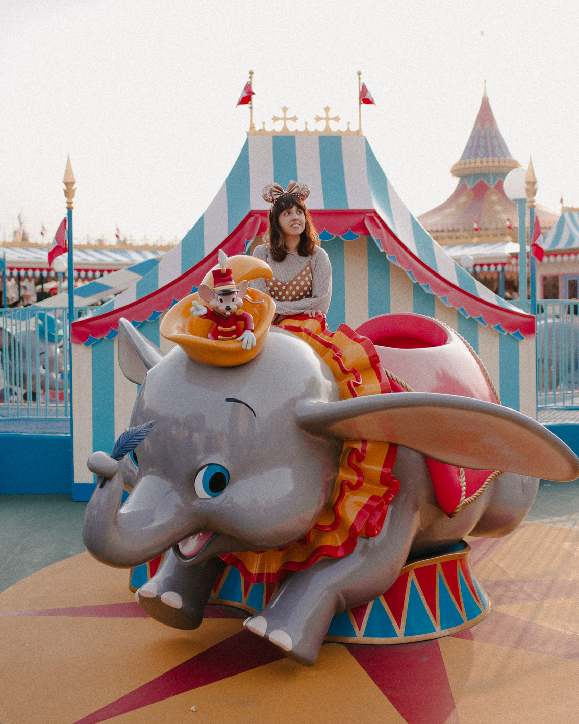 Tokyo Disneyland Dumbo - The cat, you and us