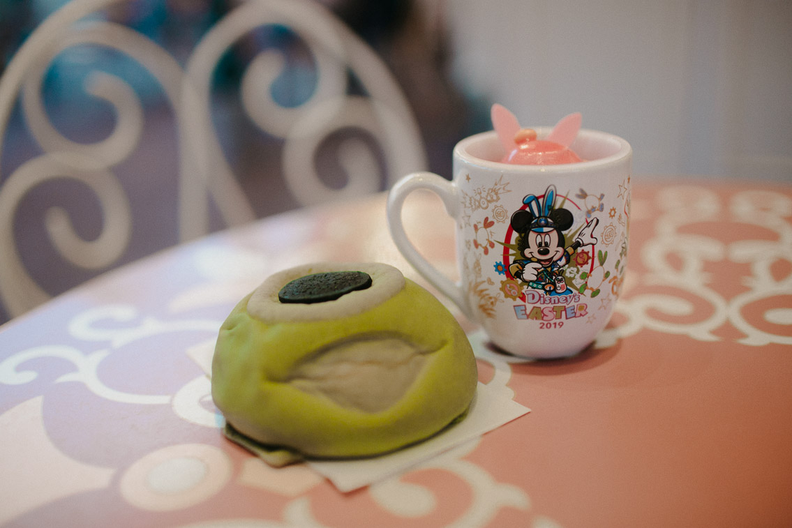 Tokyo Disneyland Mike melon bread - The cat, you and us