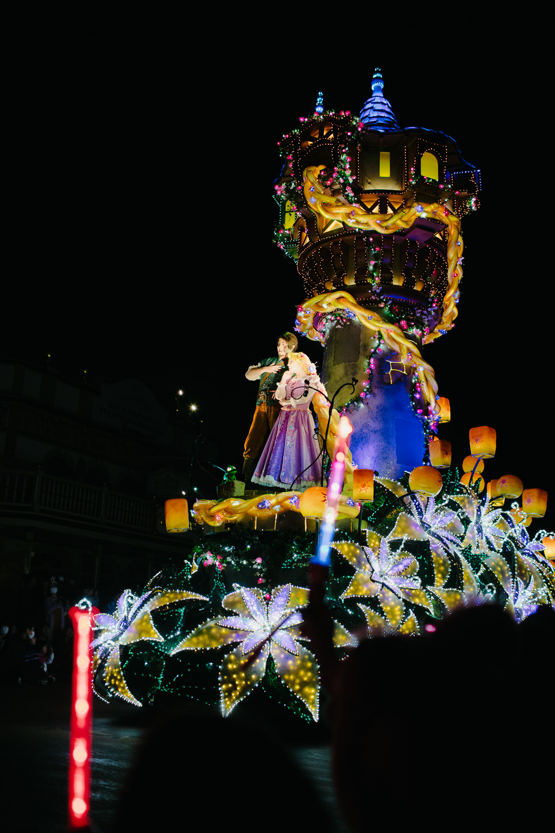 Tokyo Disneyland Electrical parade - The cat, you and us