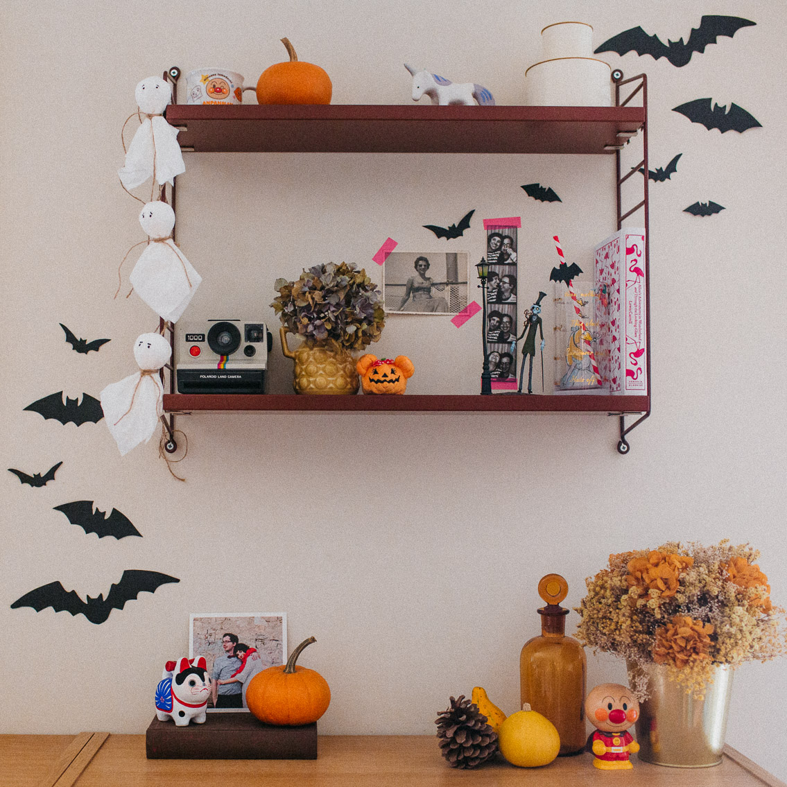 Halloween 2019 home decor - The cat, you and us