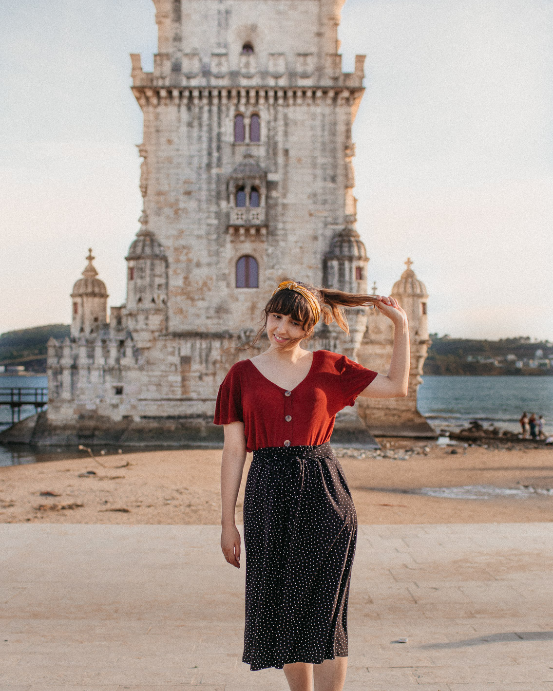 Torre de Belém - The cat, you and us