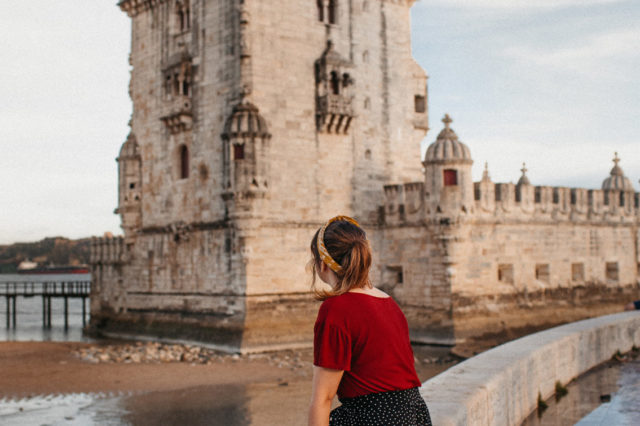 Torre de Belem - The cat, you and us