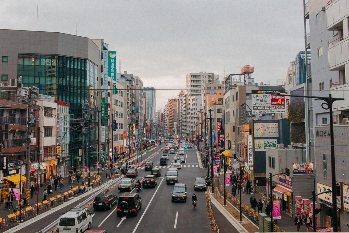 Sakura in Tokyo, Nakameguro