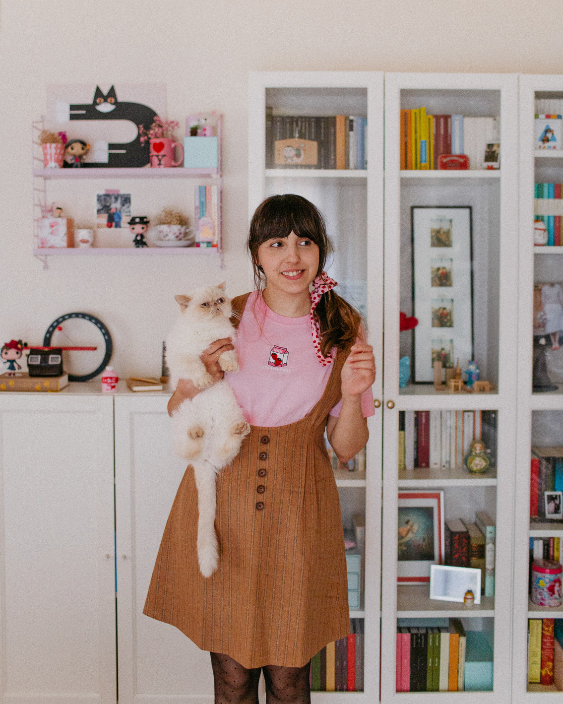Styling Japanese clothes - The cat, you and us