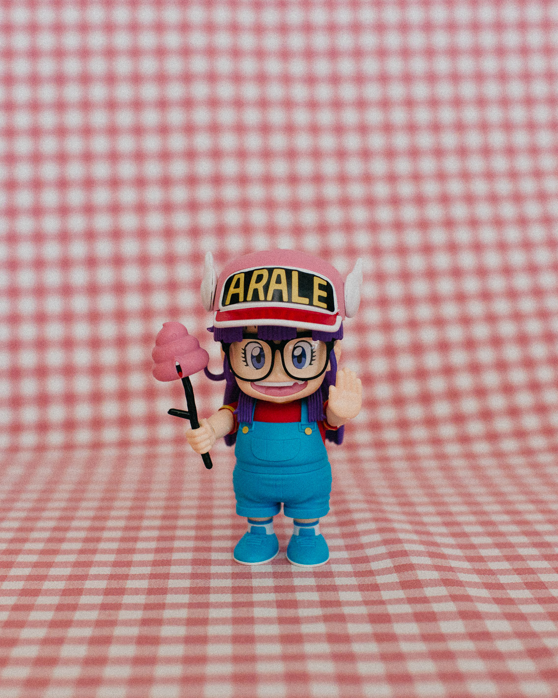 Dr Slump Arale Figure rise Mechanics Bandai - The cat, you and us