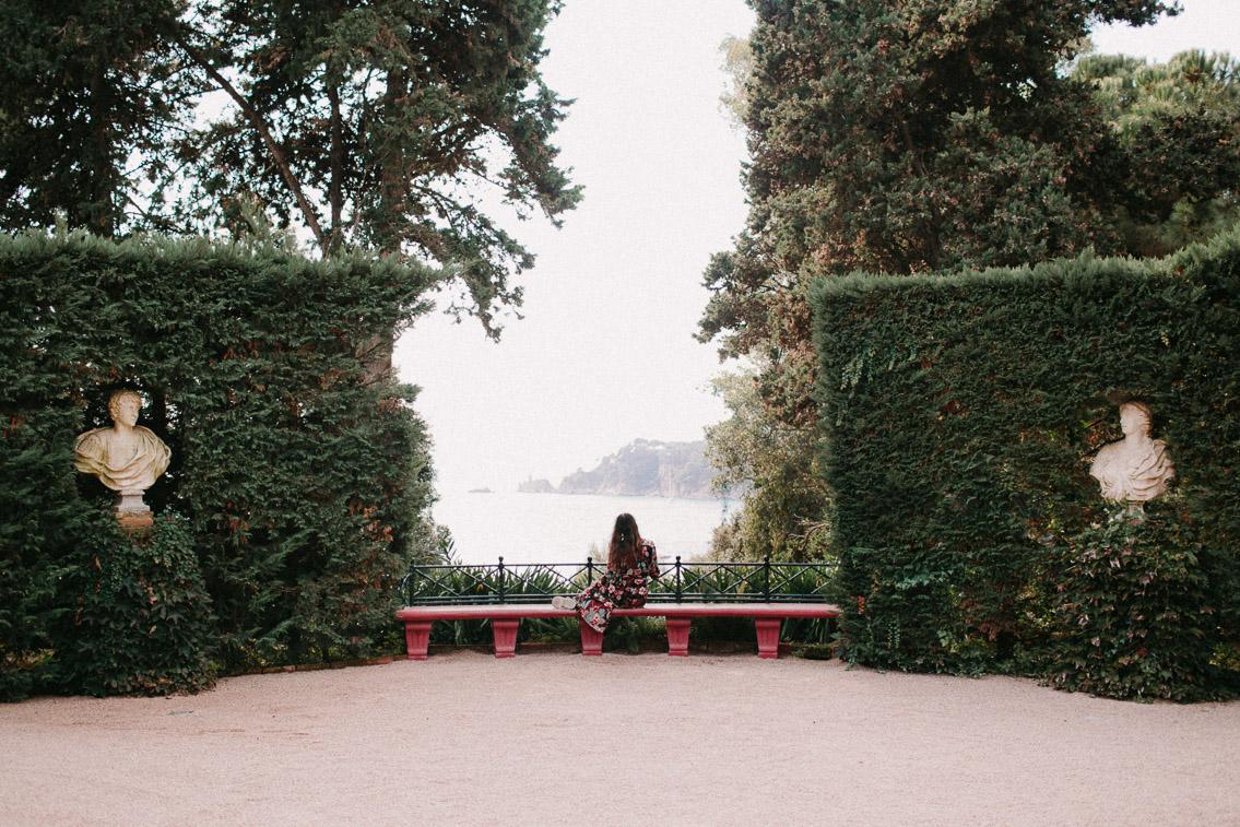 Santa Clotilde Gardens Lloret de Mar - The cat, you and us