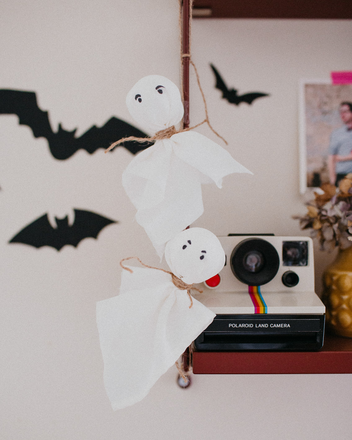 Halloween decor 2020 ghosts - The cat, you and us