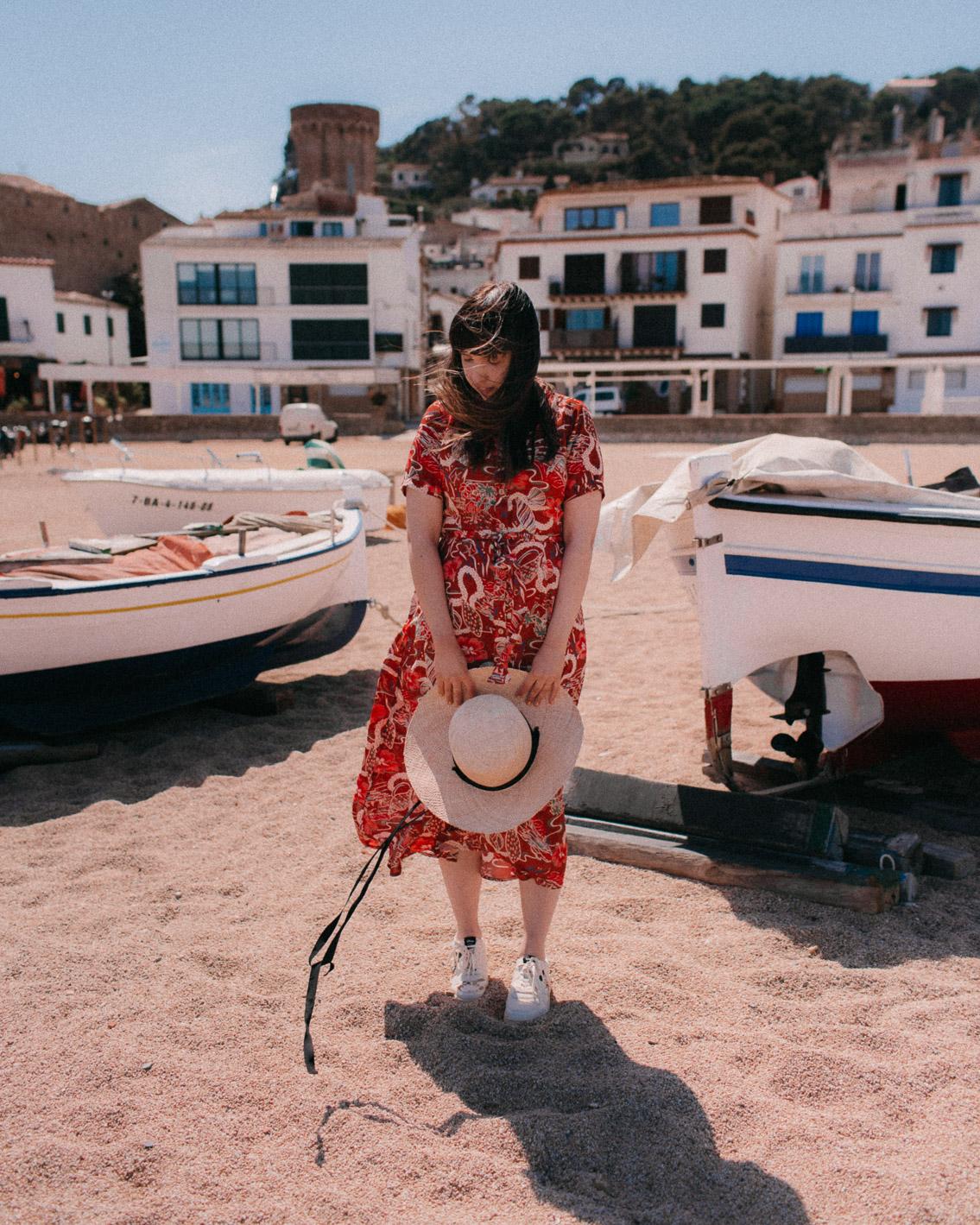 Platja Gran Tossa de Mar - The cat, you and us