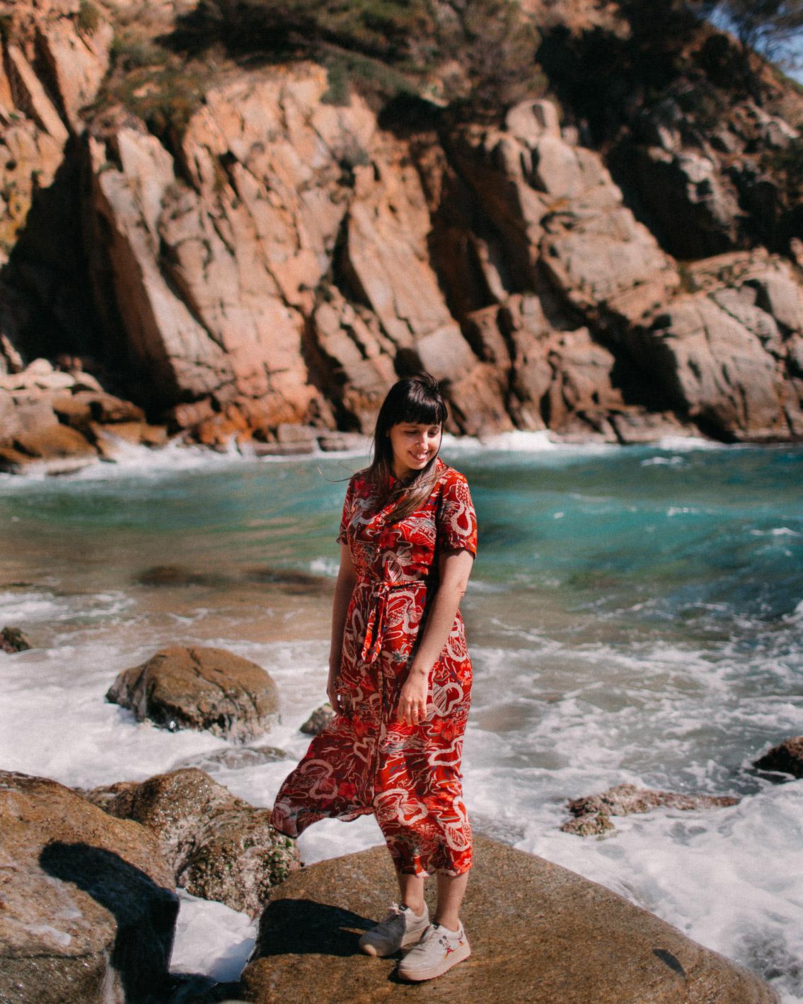 Tossa de Mar Es Codolar - The cat, you and us