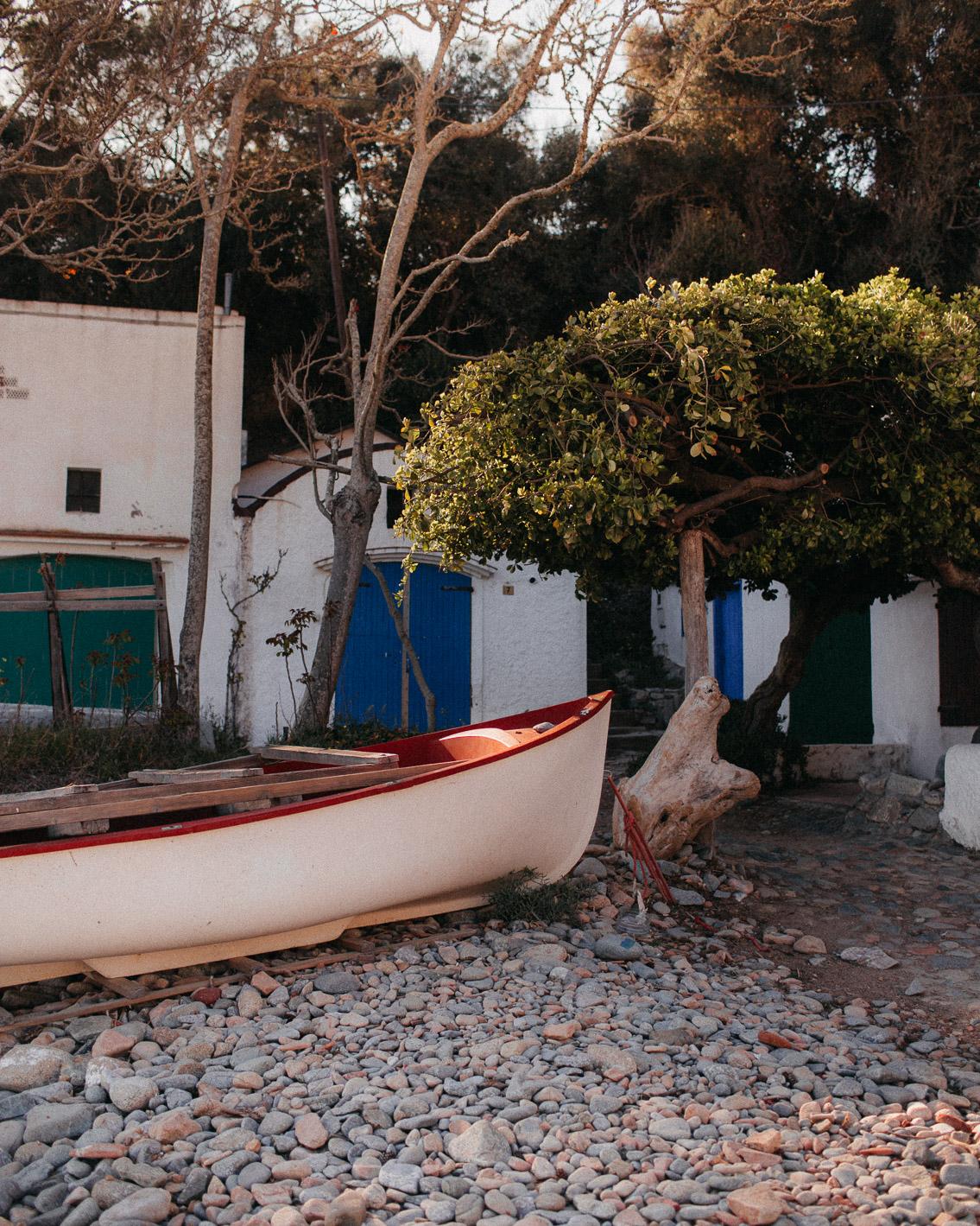 Costa Brava Cala S'Alguer - The cat, you and us
